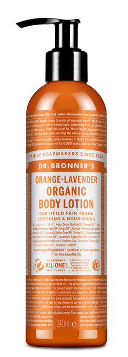 Orange Lavender - Organic Lotion