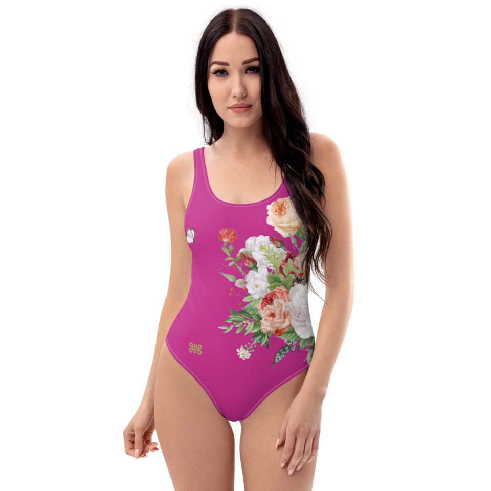 MA Fuchsia One-Piece Swimsuit