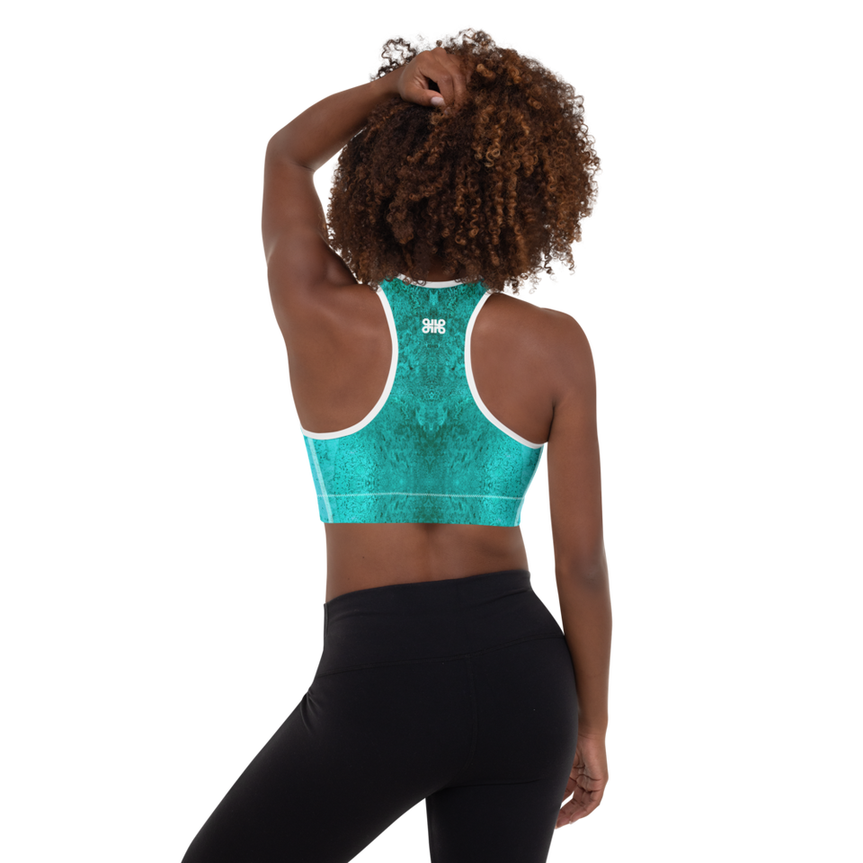 Rêves d'Azur Padded Sports Bra