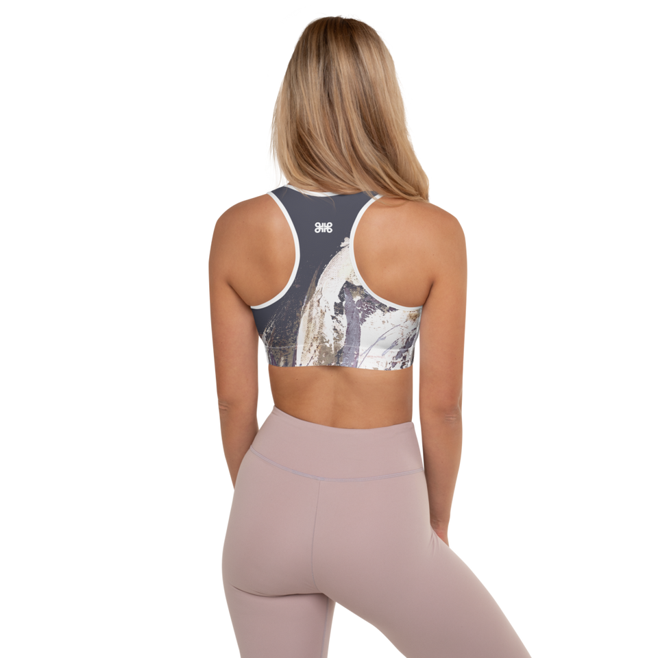 Palette Grise Padded Sports Bra