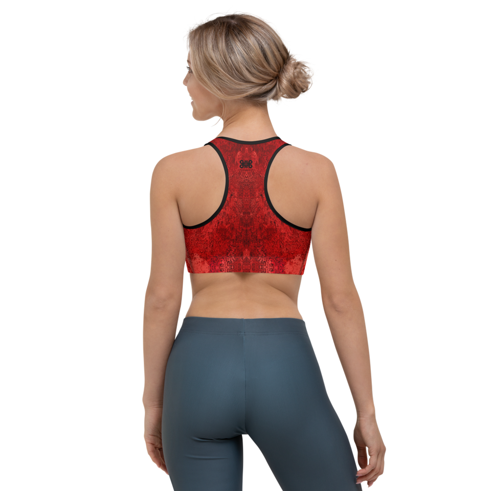 Rêves Rouge Active Bra
