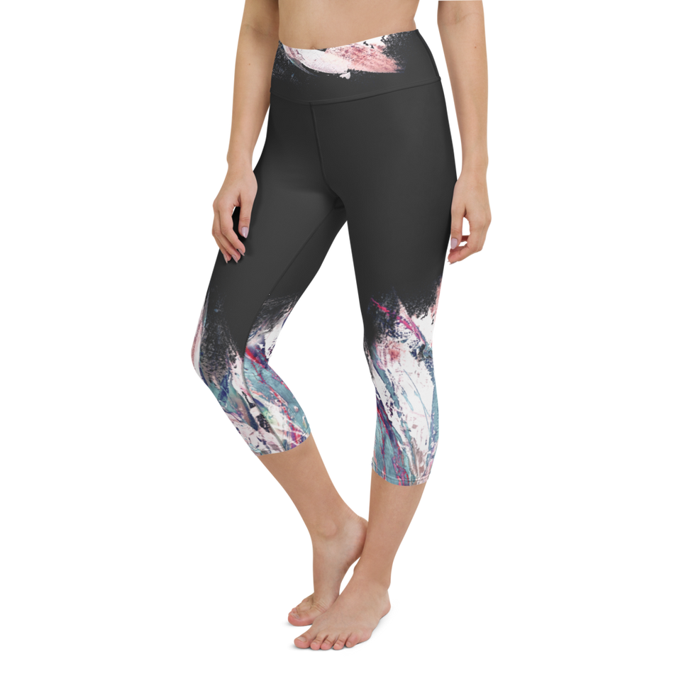 Palette Anthracite High-Rise Capri Leggings