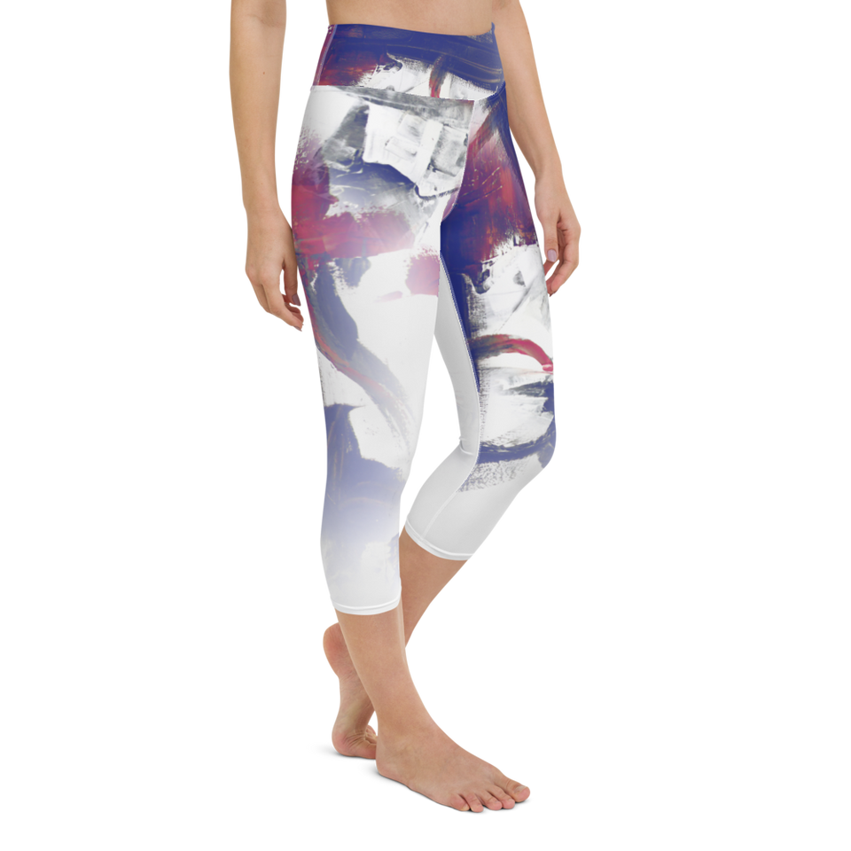 Vive la Liberté High-Rise Capri Leggings