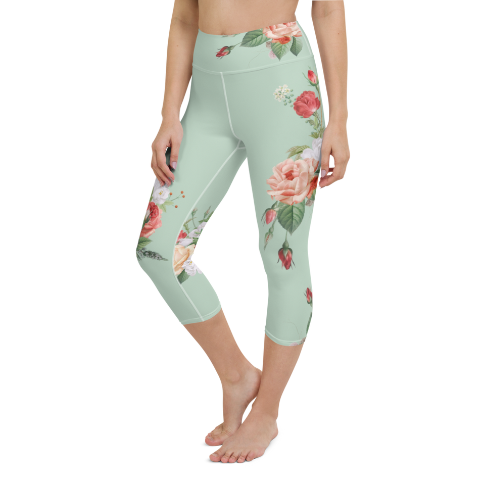 MA Mint High-Rise Capri Leggings