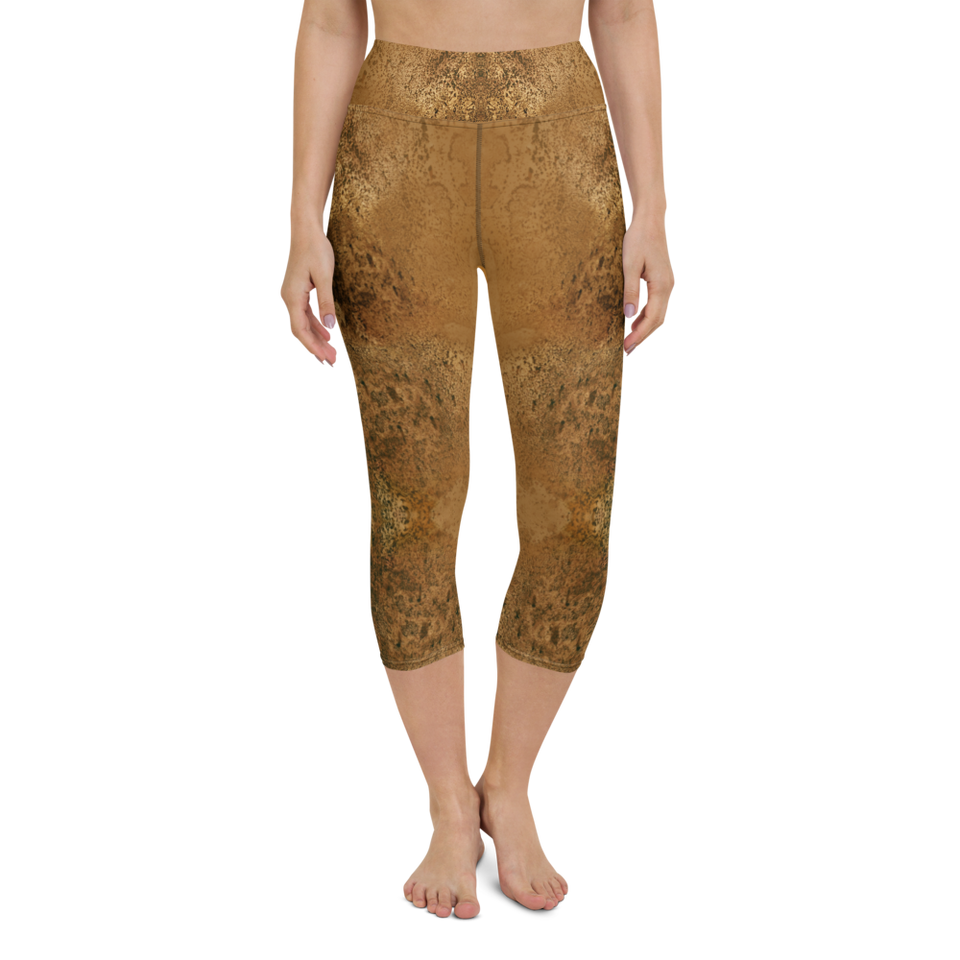 Rêves d'Or High-Rise Capri Leggings