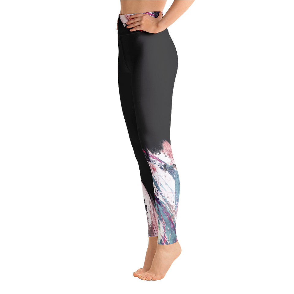 Palette Anthracite High-Rise Leggings
