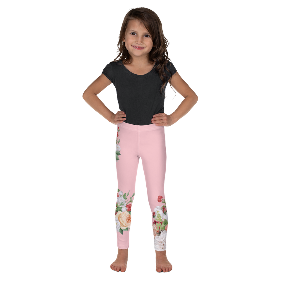 MA Pink Kids Leggings