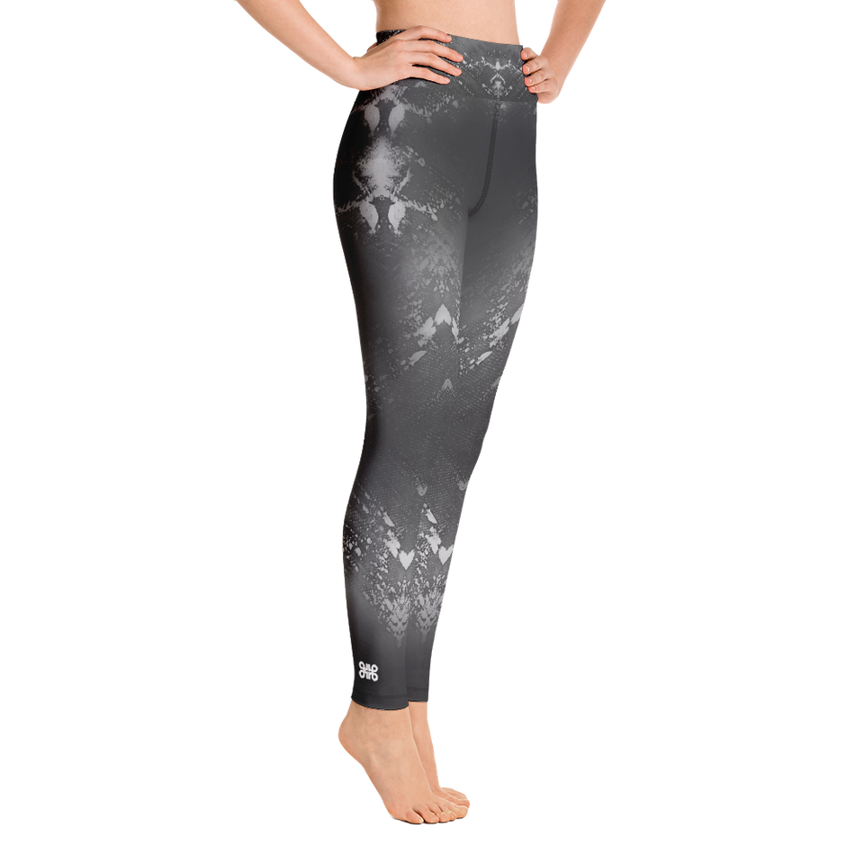 Supernova Black High-Rise Leggings