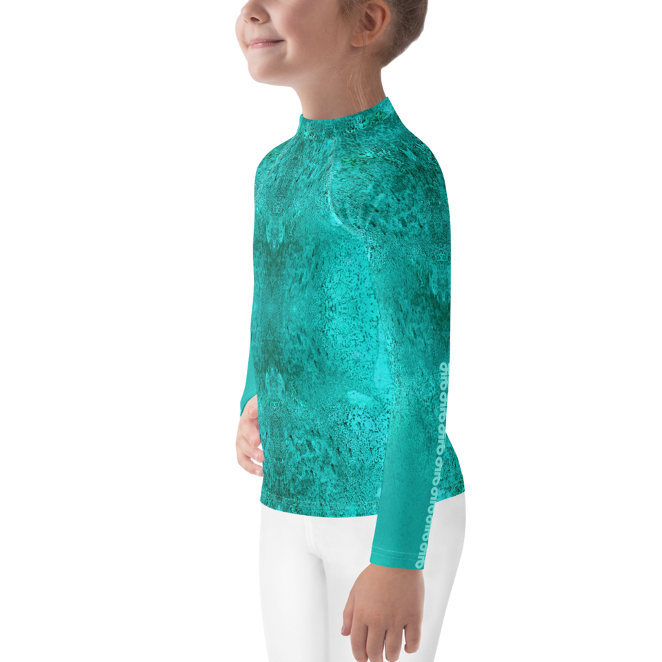 Rêves d'Azur Kids Print Top