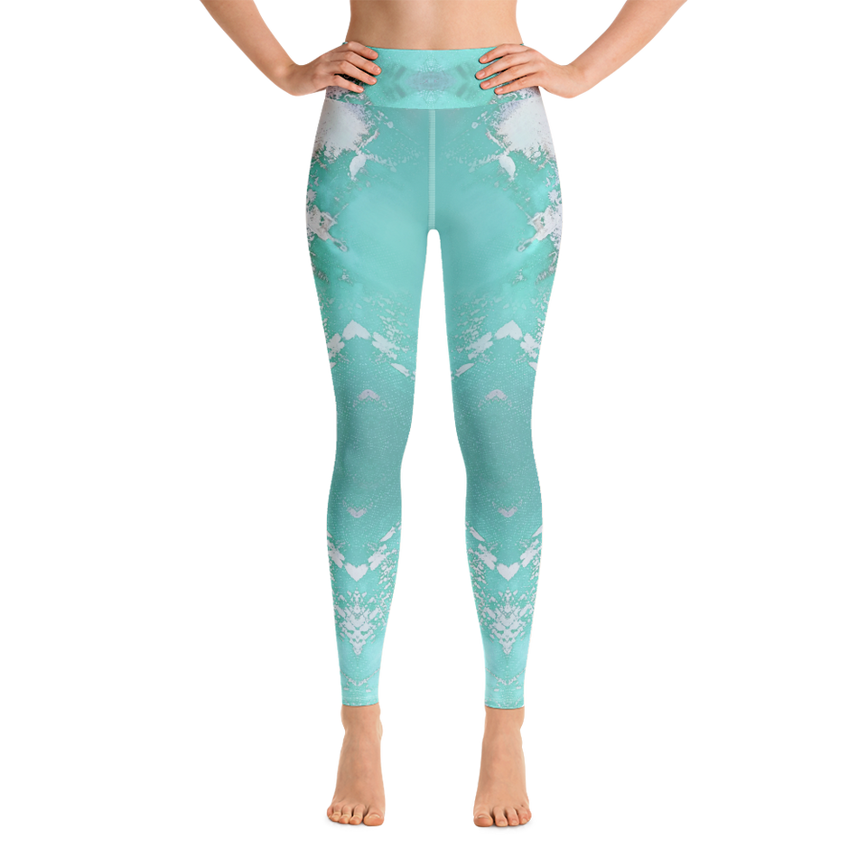 Supernova Blue High-Rise Leggings