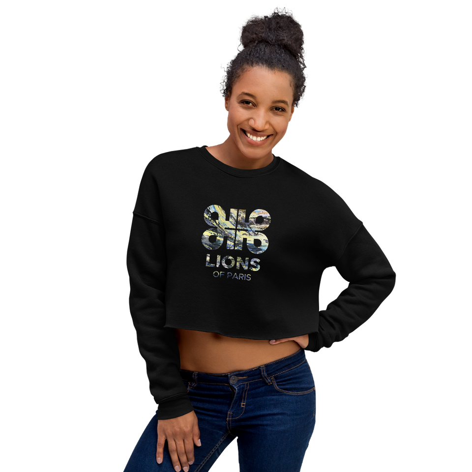 Passion Logo Crop Sweatshirt