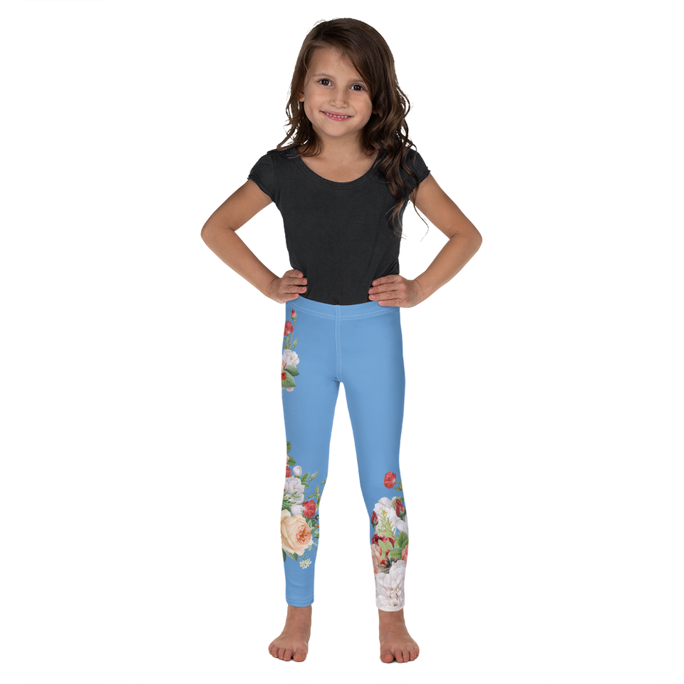 MA Blue Kids Leggings
