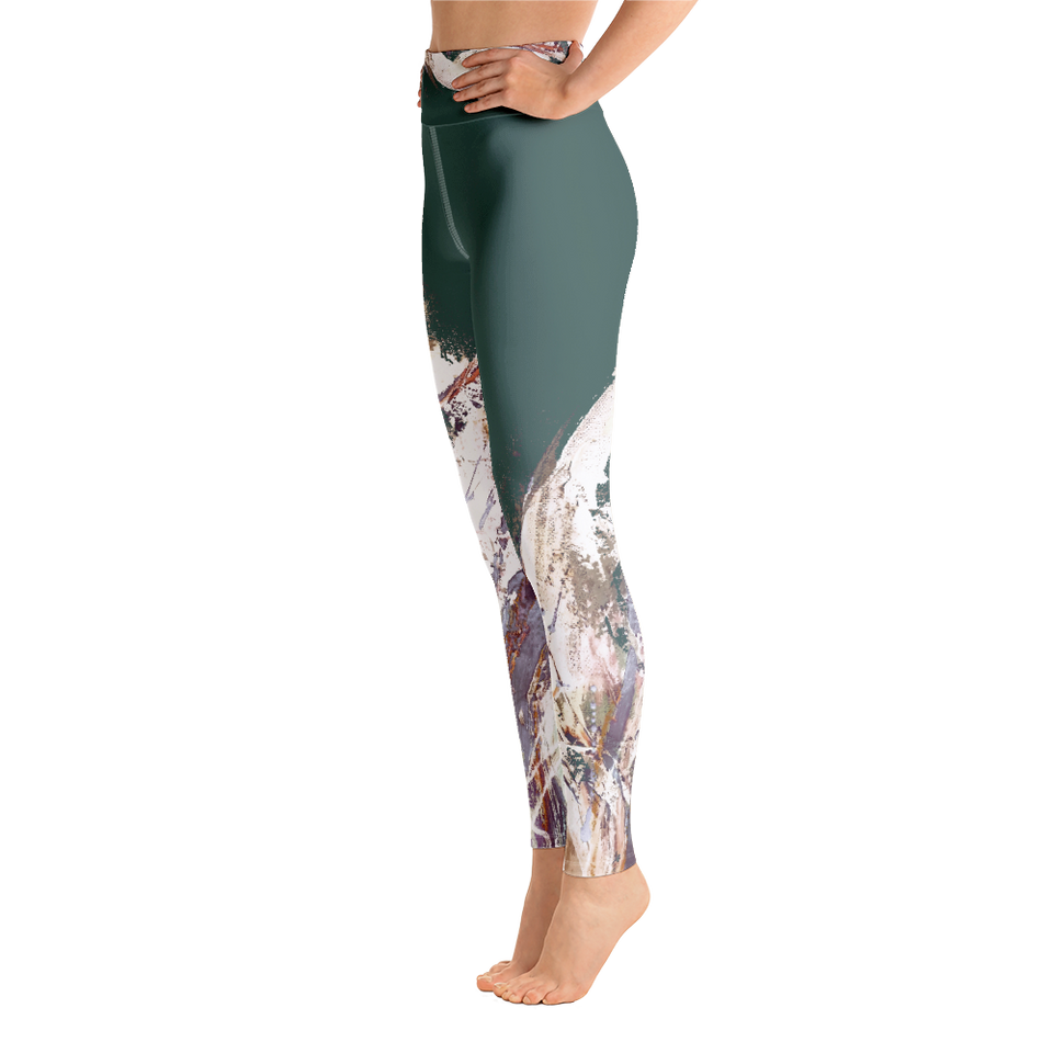 Palette Verte High-Rise Leggings