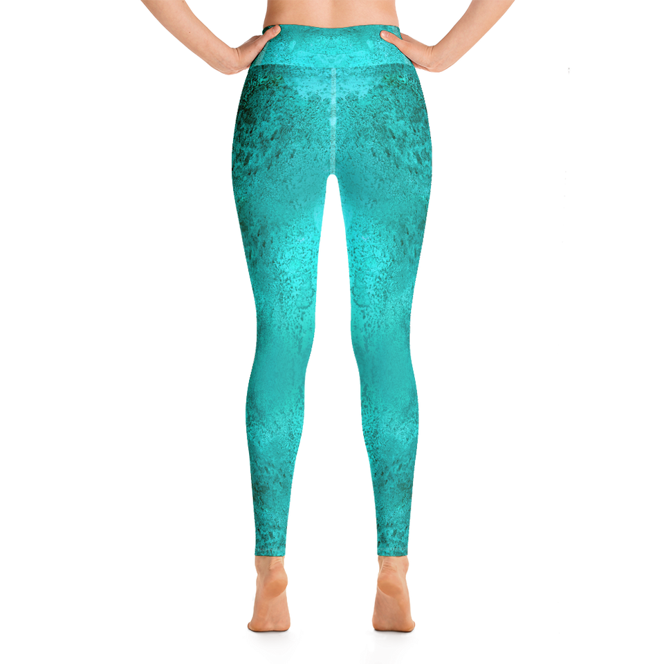 Rêves d'Azur High-Rise Leggings