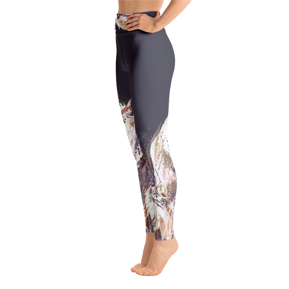 Palette Grise High-Rise Leggings