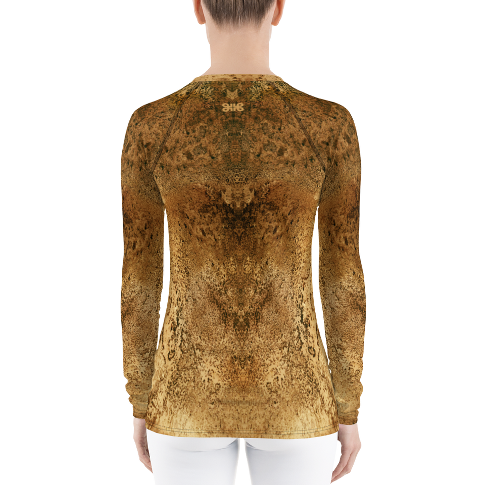 Rêves d'Or Luxe Print Top