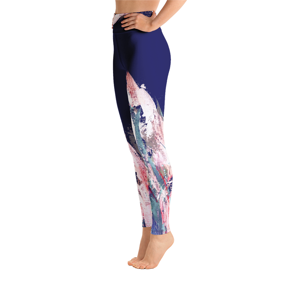 Palette Bleue High-Rise Leggings