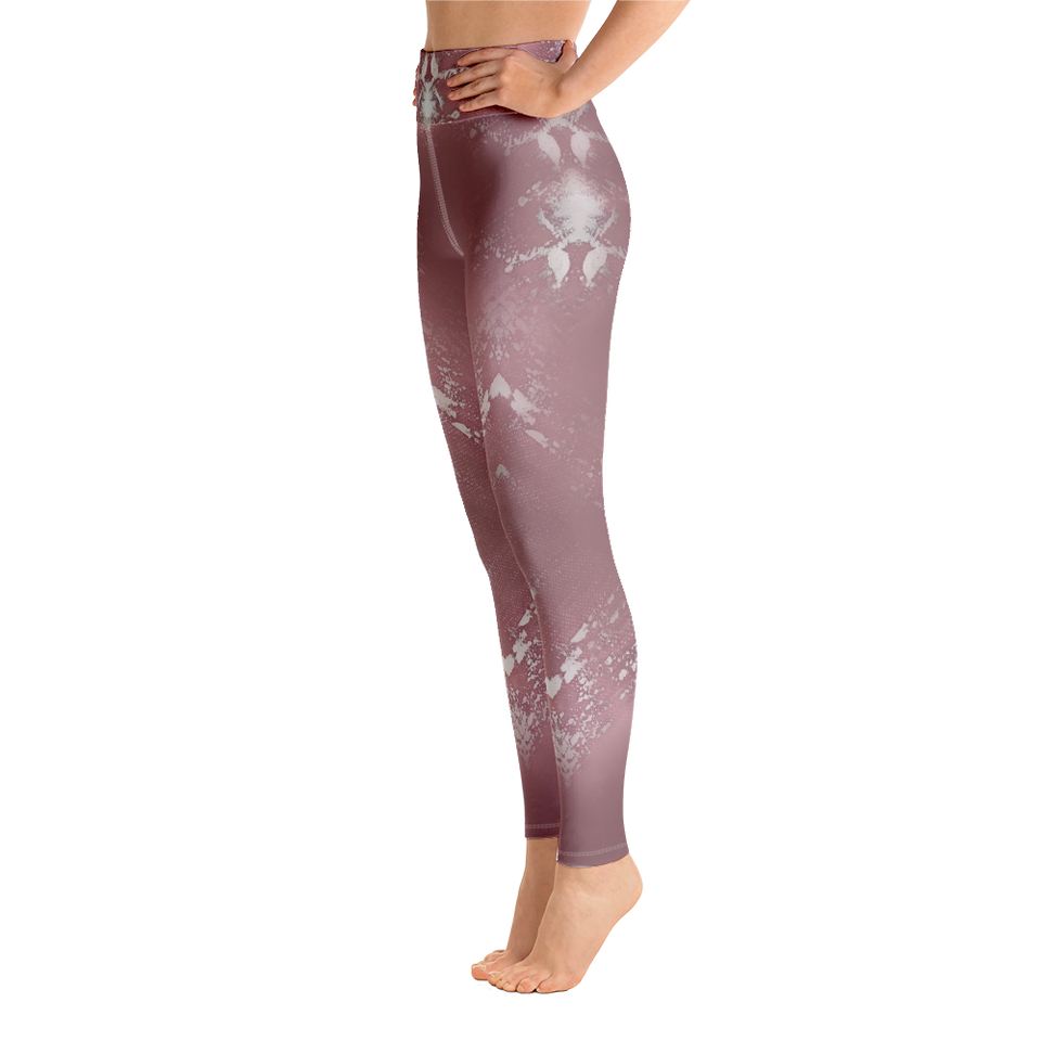 Supernova Pink High-Rise Leggings