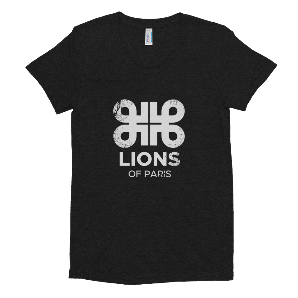 Lions Distressed Logo Tee