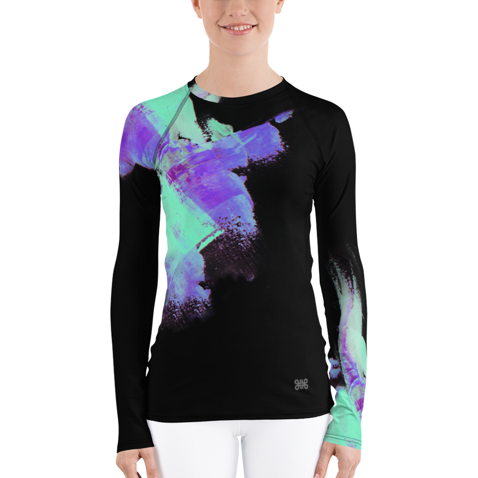Minuit Luxe Print Top