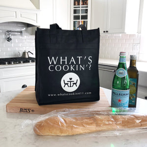 What's Cookin'? Reusable Grocery Tote