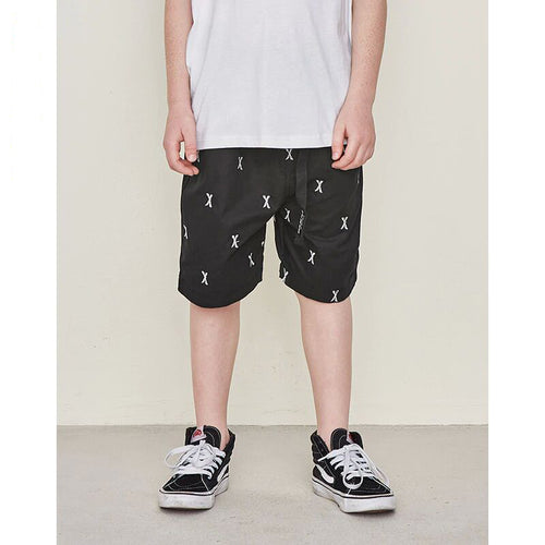 Boys Embroidery Beach Sports Shorts