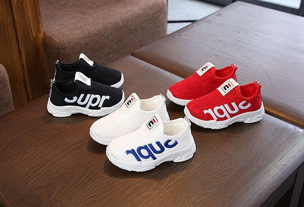 Children's sports sandals breathable baby soft bottom small white shoes set foot casual shoes