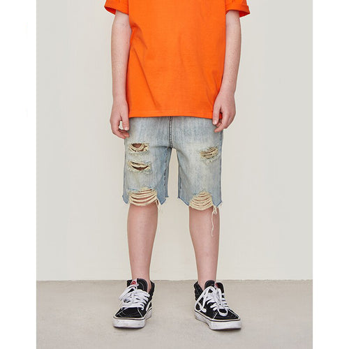 Boy Fashion Denim Shorts