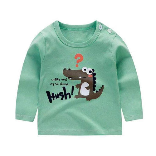 Cotton T Shirts Boys clothes Children Printed Tees Kids T Shirts