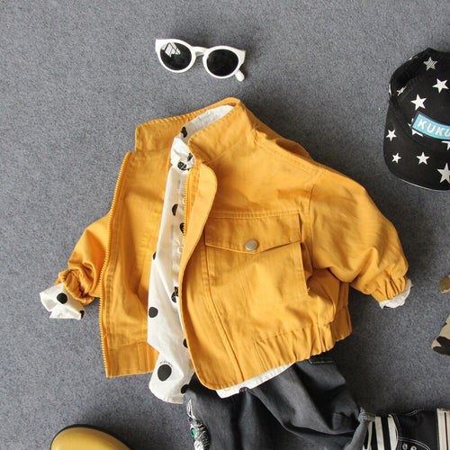 autumn only jacket boys letter cartoon handsome jacket kids spring autumn clothing