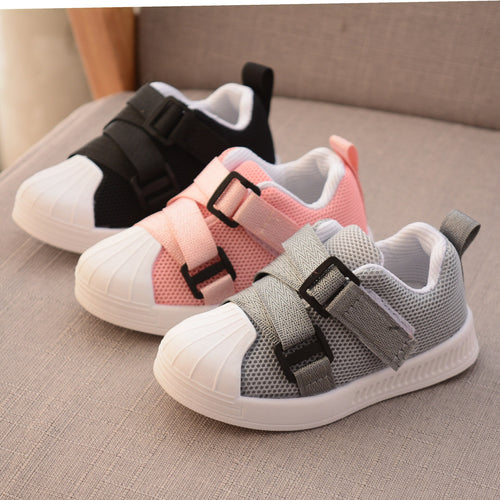Girls Sport Shoes Antislip Soft Bottom Kids Baby Sneaker Casual Flat Sneakers white Shoes