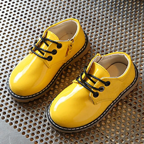 Children Fashion Baby Shoes Boys Girls Martin Rubber Sole Sneakers
