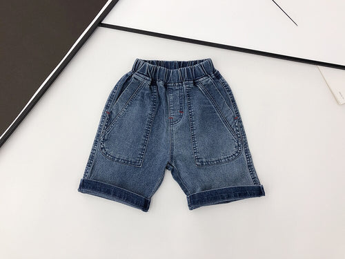 Boys Denim Child Shorts
