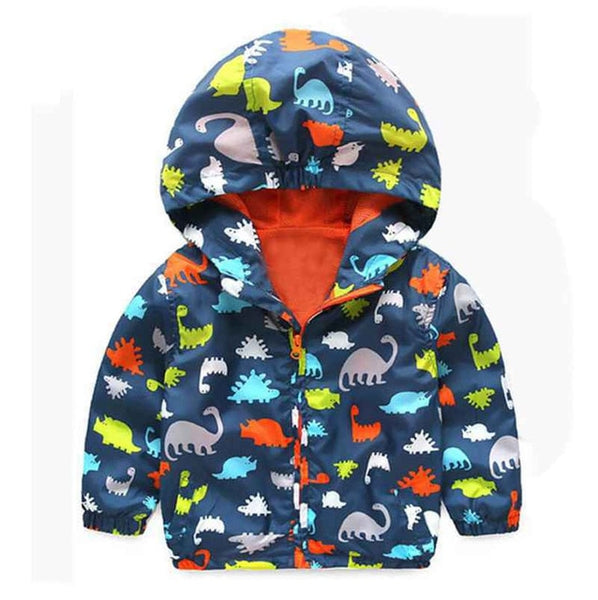 Cute dinosaur child coat