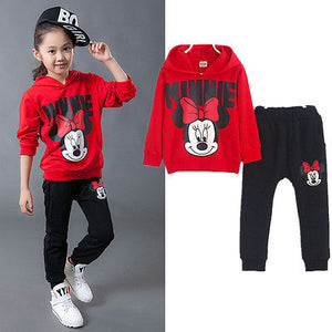 Children's long sleeve hooded jacket pants