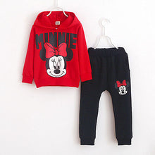 Load image into Gallery viewer, Children's long sleeve hooded jacket pants