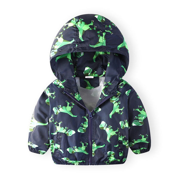 DRESSINGLIKE 2019 New Summer autumn children jackets casual hooded kids outerwear coat