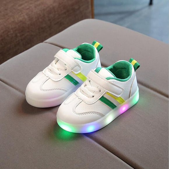 Children's luminous shoes