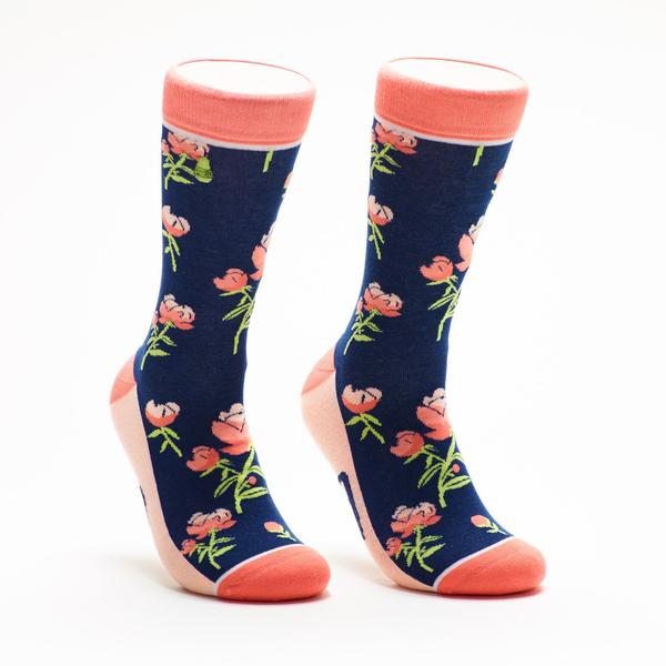 Calcetines-mujer-flores