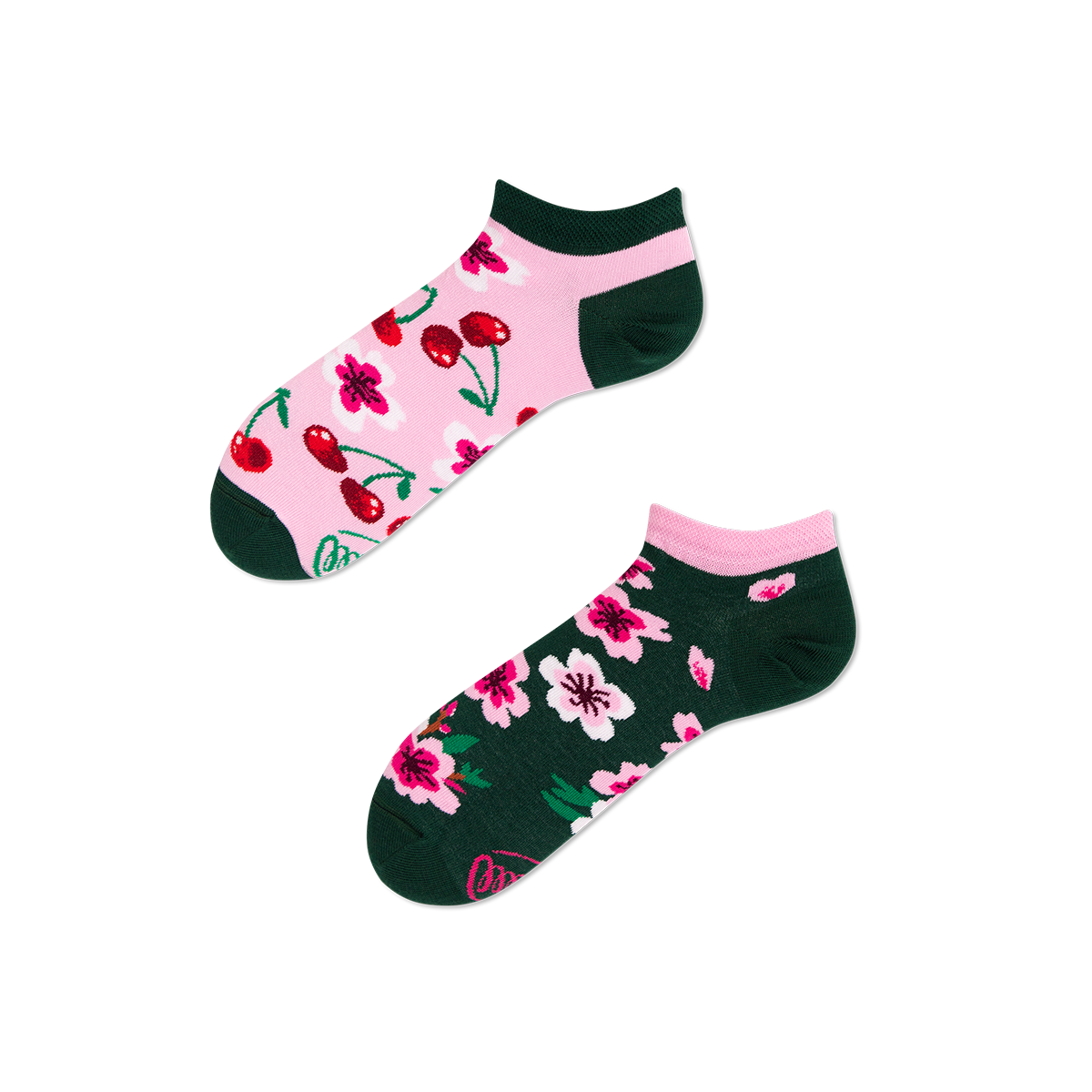 Calcetines-tobilleros-cherry-blossom-low