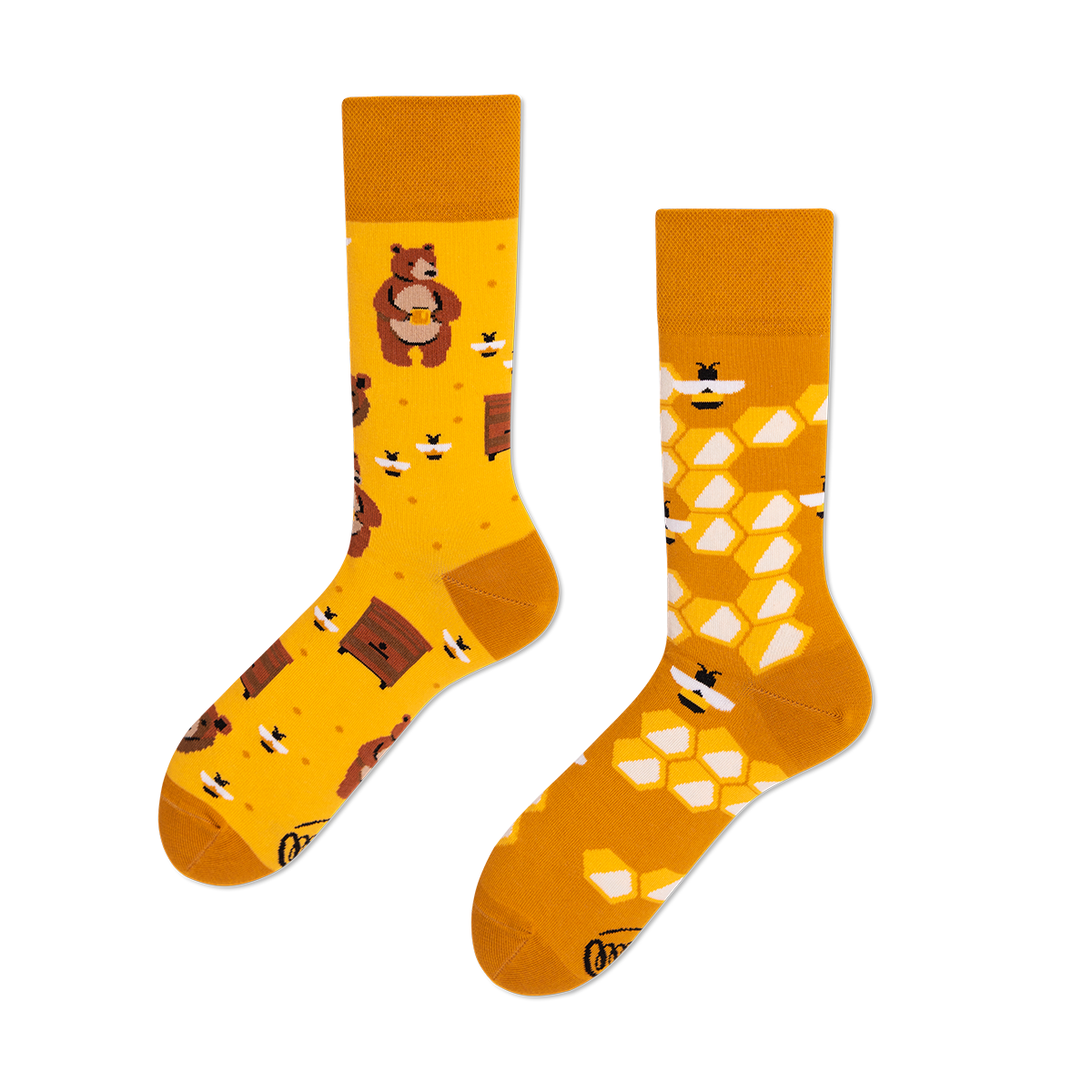 Calcetines Honey Bear - The Socks Closet - Many Mornings