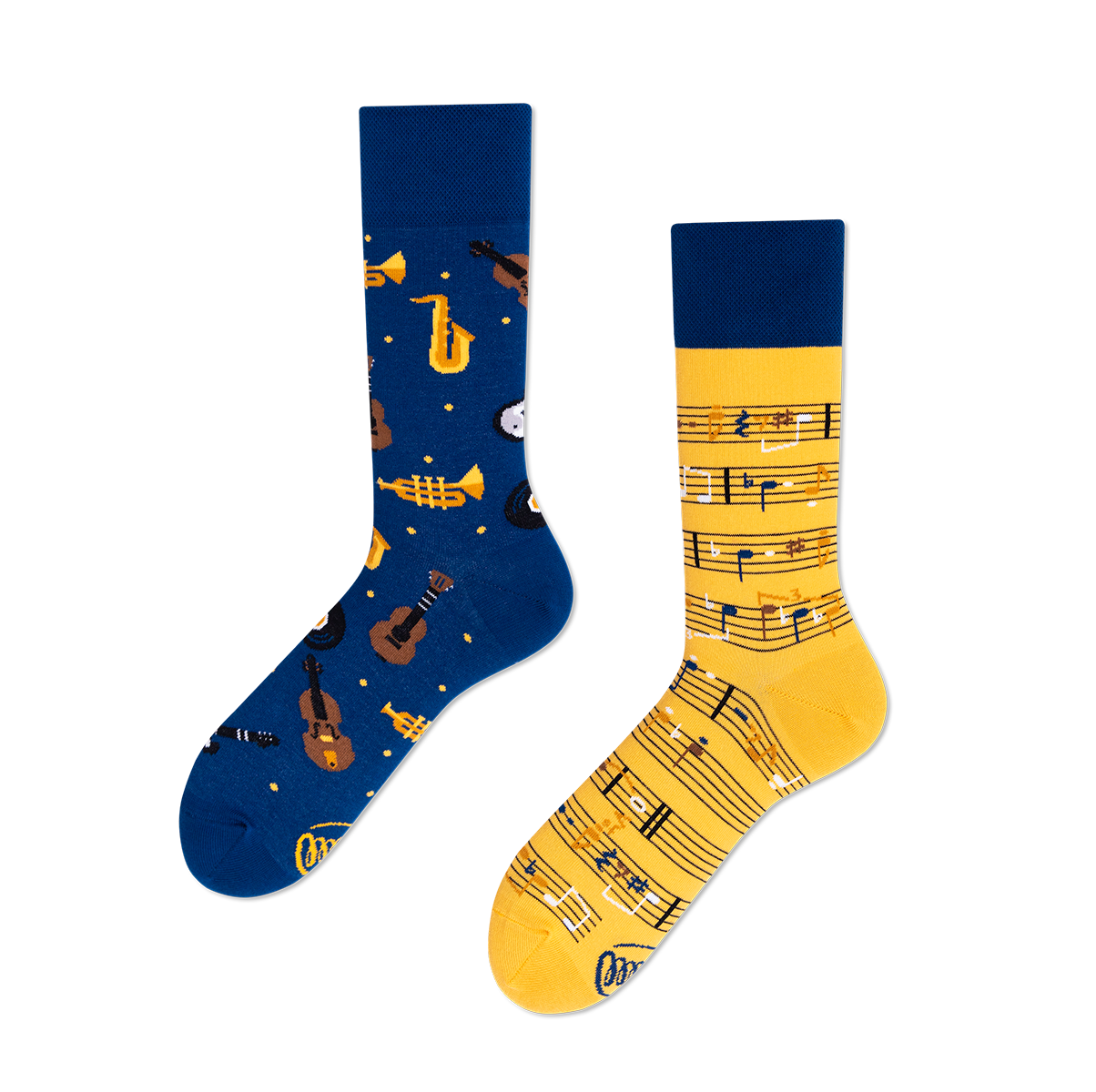 Calcetines music notes - The Socks Closet - Many Mornings