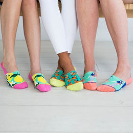 Calcetines mujer invisibles Happy Pack I The Socks Closet