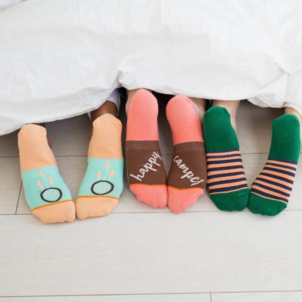 Calcetines mujer invisibles Outdoor Pack I The Socks Closet