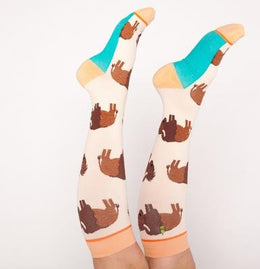 calcetines_de_compresion_bisonte_the_socks_closet_woven_pear