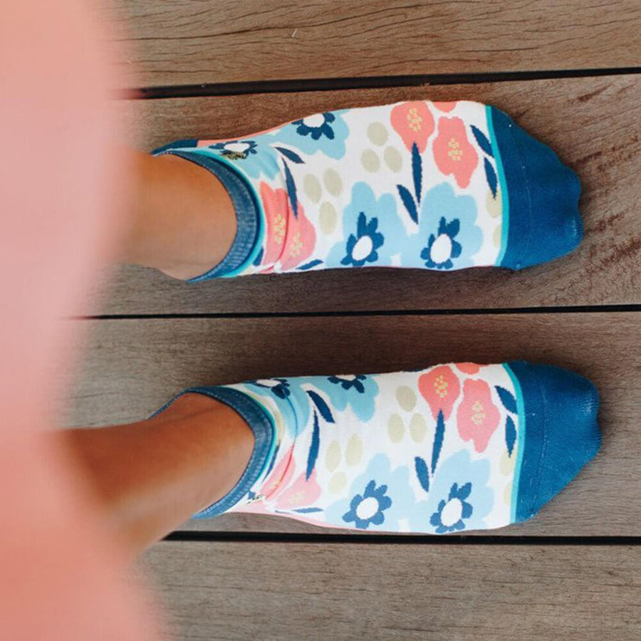 Calcetines mujer Flores I The Socks Closet