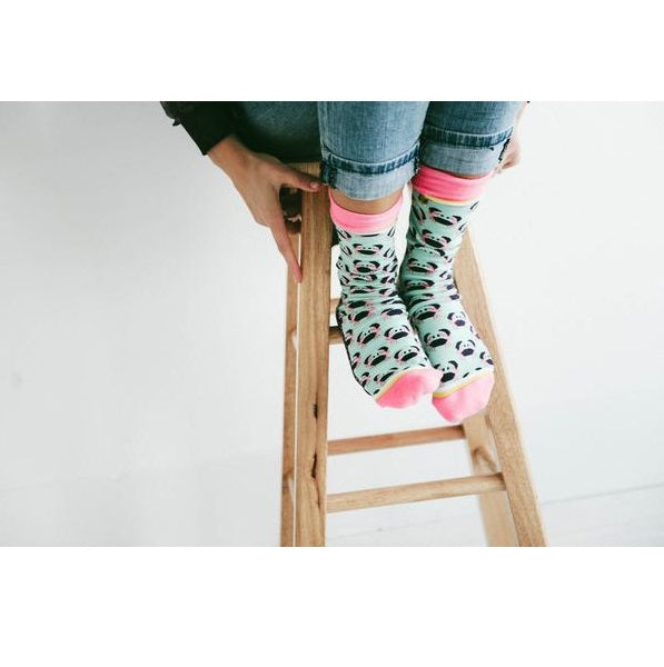 Calcetines cangrejos felices I The Socks Closet
