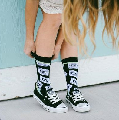 Calcetines_mix_tape_the_Socks_closet_woven_pear
