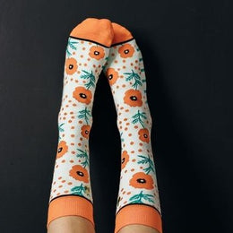 Calcetines Amapolas I The Socks Closet