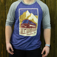 The Struggle Bus Unisex Raglan